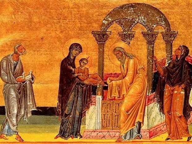 Сретение Господне в2019году: традиции инародные приметы
