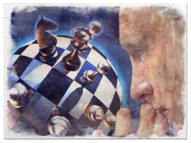 Американские СМИ: Путин - гроссмейстер глобальной политики