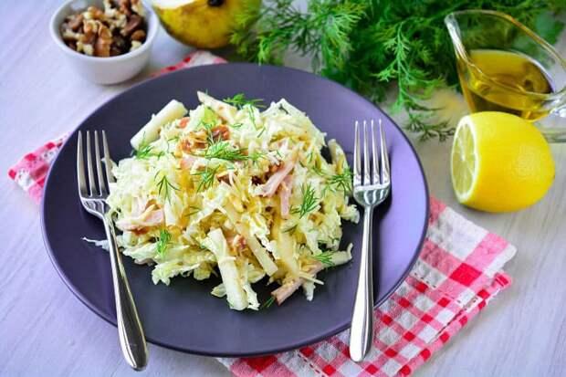 Салат Красотка. Гармоничное сочетание ингредиентов подарит вам потрясающий вкус 8