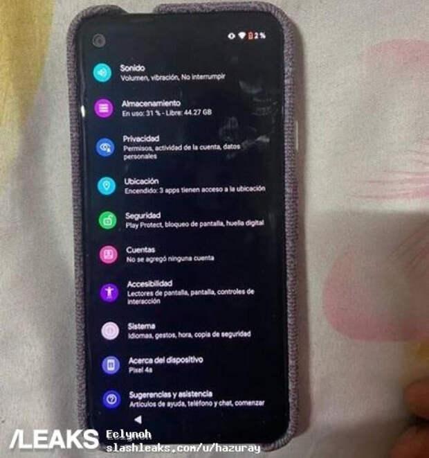 Реальные снимки подтверждают дизайн смартфона Google Pixel 4a