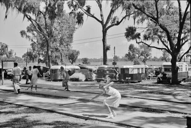 Туристический лагерь Дейд-Сити, Флорида, 1939 год