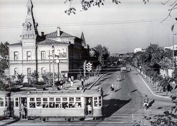 Омск, Театральная площадь, 50-е