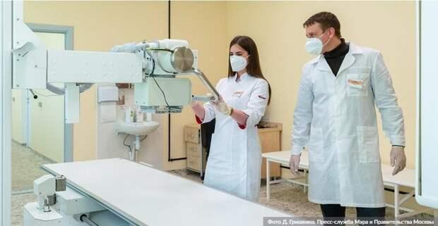 Эксперимент по внедрению технологий искусственного интеллекта в здравоохранение Москвы расширят. Фото: Д.Гришкин, mos.ru