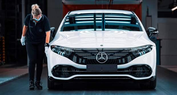 Mercedes-Benz запускает в производство свой самый важный в истории седан