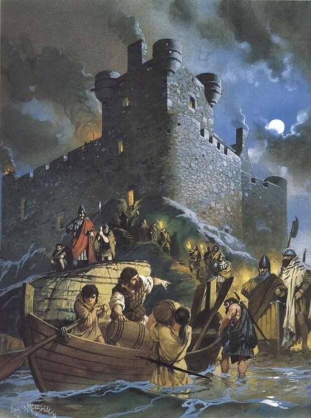 Гэльский замок (XIV в.н.э.)