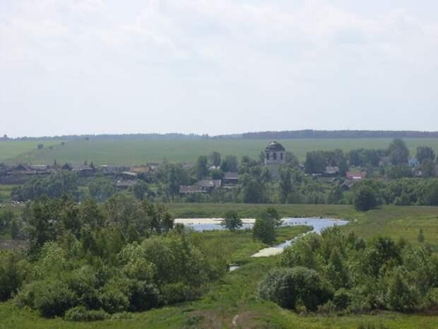 Вот эта деревня, где выросла моя бабушка. Фото из интернета.
