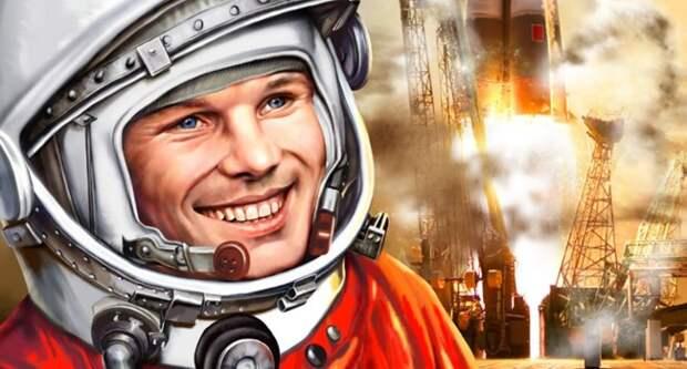 Блог Павла Аксенова. Анекдоты от Пафнутия. Юрий Гагарин - первый космонавт