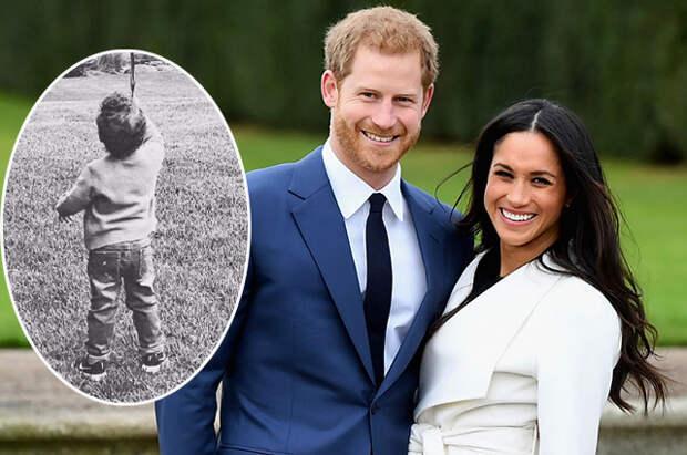 Меган Маркл и принц Гарри поделились новым снимком сына Арчи в честь его дня рождения
