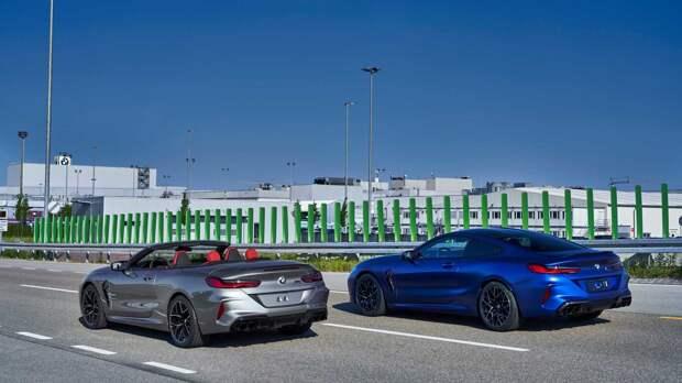 BMW показала фотографии первых экземпляров 8 Series Gran Coupe, и они выглядят «вкусно»