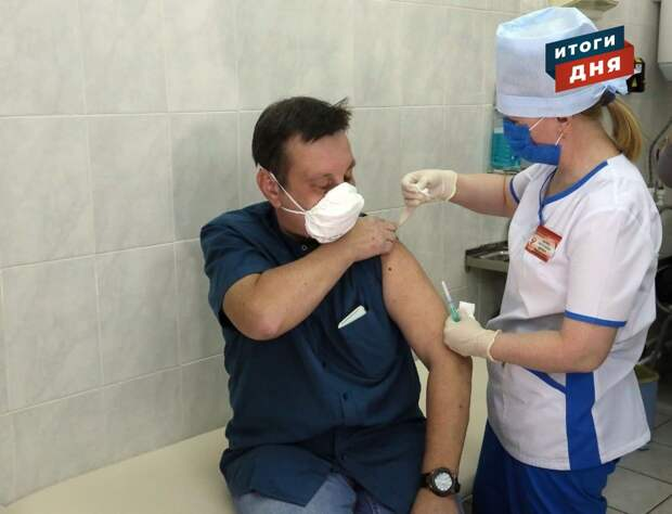 Итоги дня: начало массовой вакцинации от коронавируса в Удмуртии и Крещенские купания