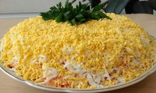 5 самых популярных советских салатов