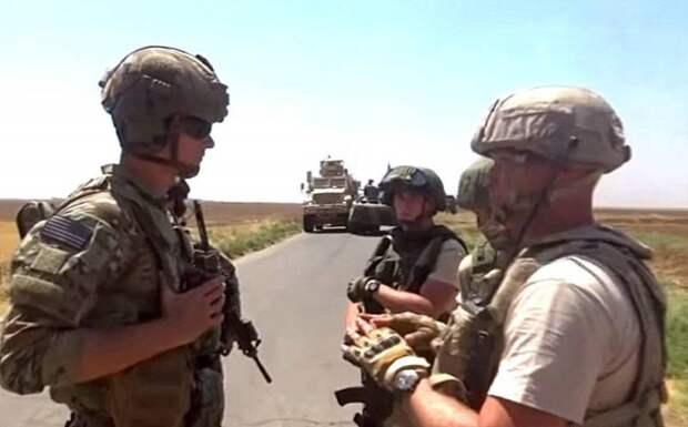 Погоня за американцами в Сирии: военные США не прислушались к предупреждению офицера РФ