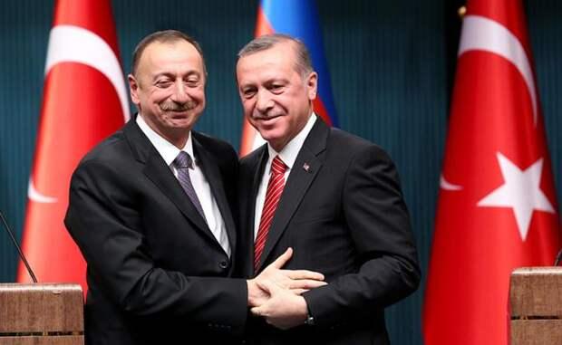 Эрдоган вытесняет Россию из Закавказья... Турецкий султан отправляется в Карабах осматривать новые владения!