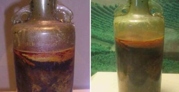 Самая старая бутылка вина в мире остается нераспечатанной с 4 века