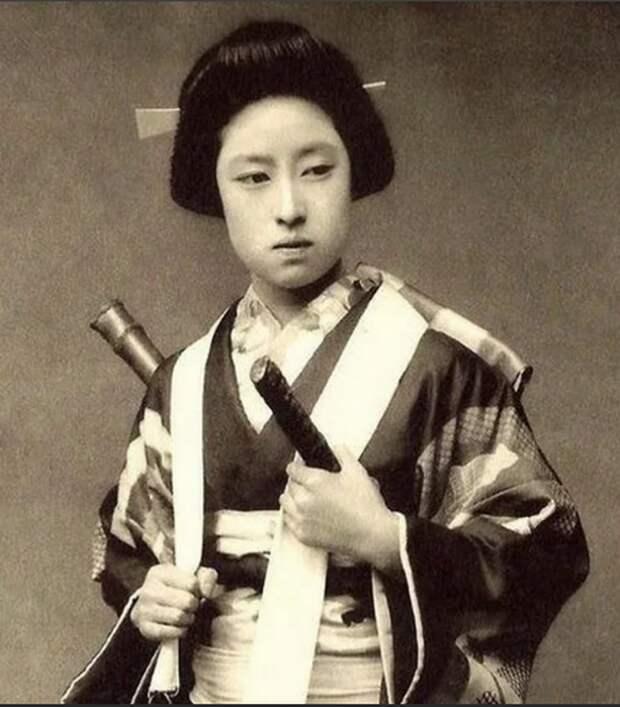 Женщины тоже могли становиться воинами-самураями