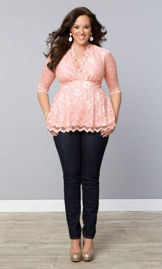 Красивая блуза, которая скрывает недостатки в зоне живота