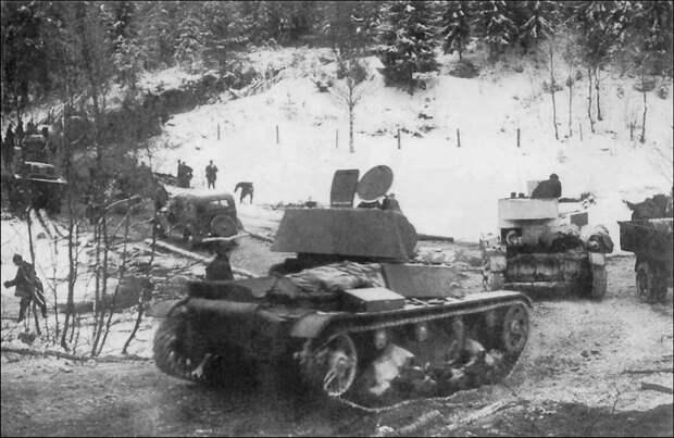 На фото - Т-26 в Финляндии военная техника, военное, история, много букв, танки, танки СССР, техника, факты