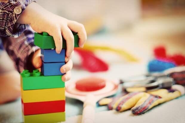 Ребенка, Башня, Строительные Блоки, Блоки