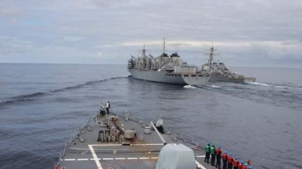 Отправка эсминца ВМС США в Черное море вызвала бурную критику в Сети