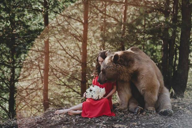 Фотограф Ольга Баранцева. Фотосессии с дикими животными и творческие портреты 22