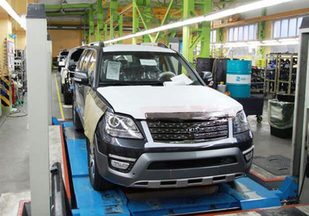 «Автотор» поставил на конвейер обновленный Kia Mohave