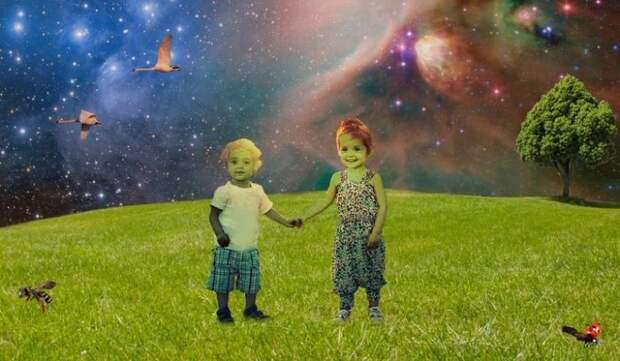 Пришельцы или пленники: кем были загадочные зеленые дети из Вулпита