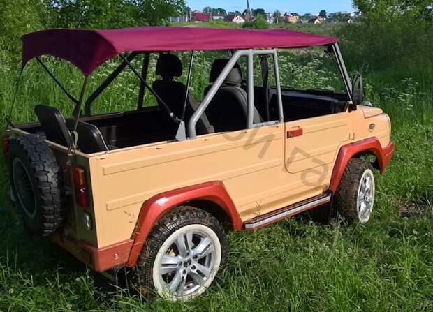 Взял неприметный ЛуАЗ-969 и превратил в стилягу