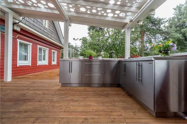 11 полезных подсказок по обустройству летней кухни
