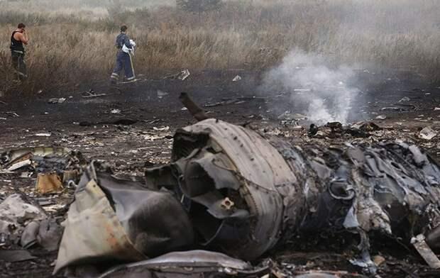 Москва прокомментировала статью про крушение MH17