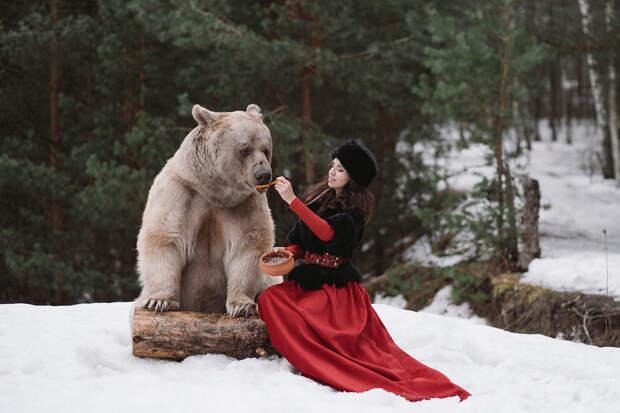 Фотограф Ольга Баранцева. Фотосессии с дикими животными и творческие портреты 19