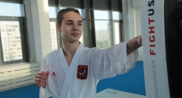 Каратист из Отрадного в 13 лет стал чемпионом России