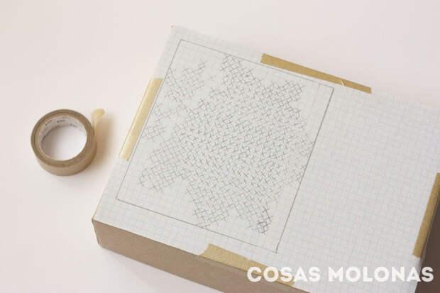 Идея: вышитая коробочка для подарка
