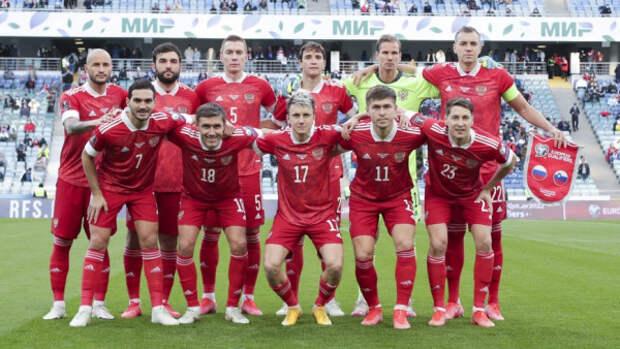 Объявлен состав сборной России по футболу