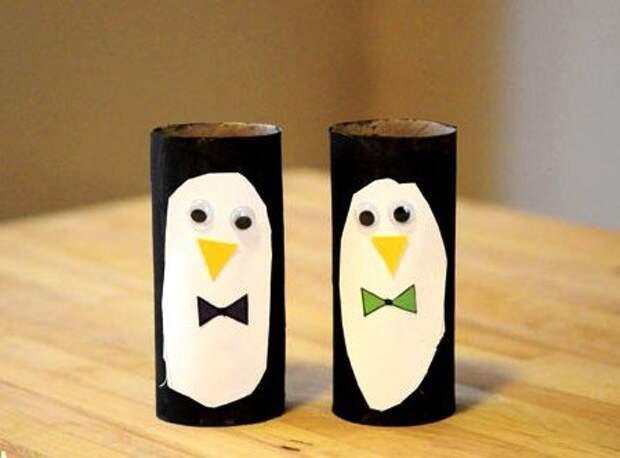 """Новогодние поделки """"Пингвин"""""""