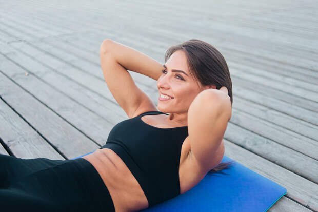 Последствия беременности: что делать с диастазом прямых мышц живота
