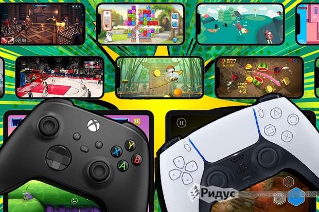 На iPhone вышла поддержка контроллеров PlayStation 5 и Xbox Series X/S
