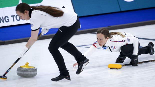В шаге от медалей: женская сборная России по кёрлингу вышла в полуфинал чемпионата мира