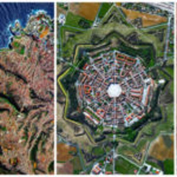 Потрясающие фотографии, сделанные со спутника