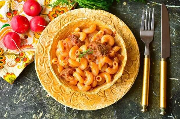 Макароны по-деревенски. Ароматное, питательное и вкусное блюдо за считанные минуты 4