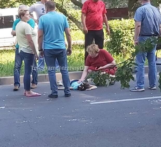 Девочку сбили на пешеходном переходе в Автозаводском районе Нижнего Новгороде