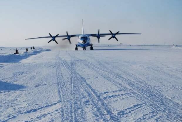 Показатель боеготовности— военный летчик обаэродроме вАрктике
