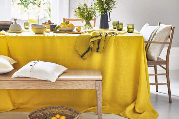 На стороне солнца: жёлтый цвет в интерьере дома