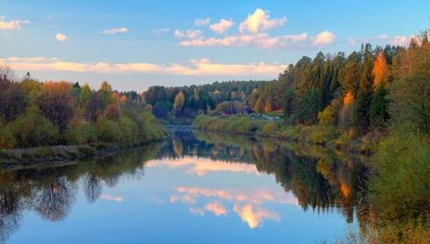 Красота окружающей природы завораживает