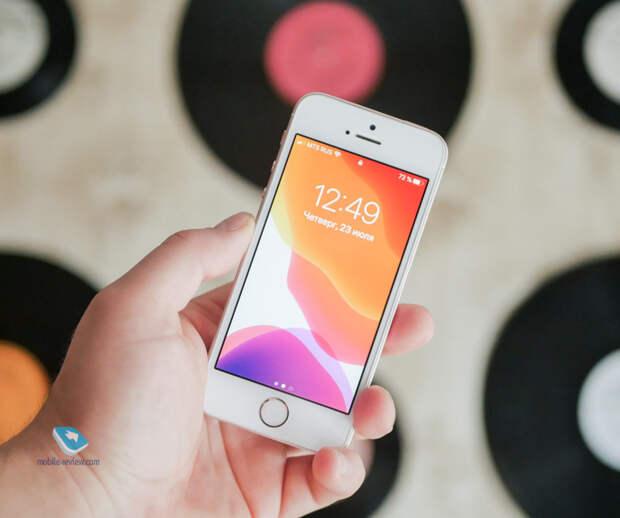 Купил iPhone SE первого поколения в 2020 году