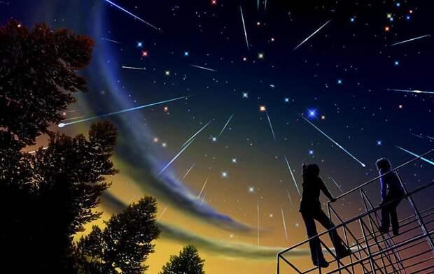 Как наблюдать метеорный поток Персеиды