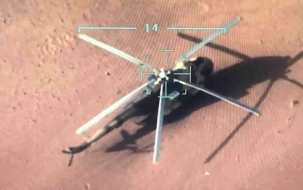 Силы ПНС захватили вертолет Ми-17 армии Хафтара после экстренной посадки
