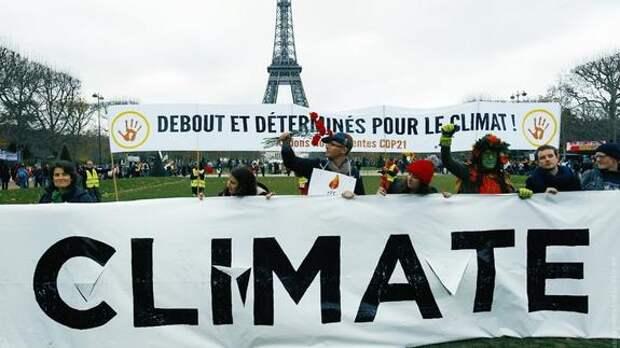 Меркантильные интересы под прикрытием «глобального потепления»