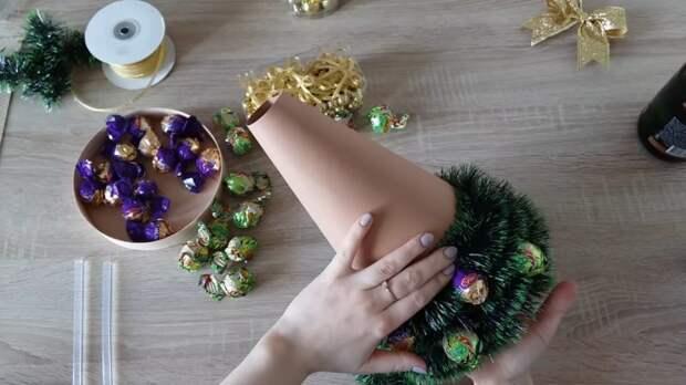 «Вкусная» ёлочка с сюрпризом — порадуйте ваших близких