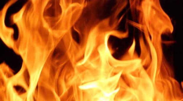 В Кемерово на параде Победы загорелась военная машина