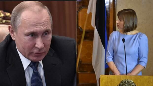 Эстонцы выразили свои ожидания от встречи Путина и Кальюлайд